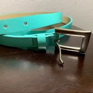 Lane Bryant Thin Belt with Silver buckle sz24